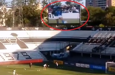 Olimpia homenajea a Maradona con el calentamiento más famoso