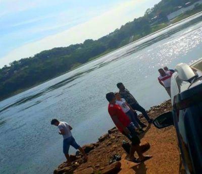 Adolescente desaparece en las aguas del río Paraná en Presidente Franco