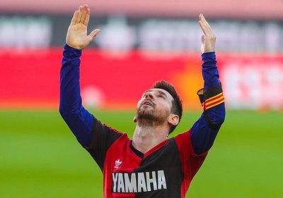 El emotivo homenaje de Messi para Maradona