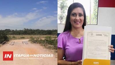 MUNICIPALIDAD DE JOSÉ LEANDRO OVIEDO FIRMA CONVENIO CON EL MOPC.