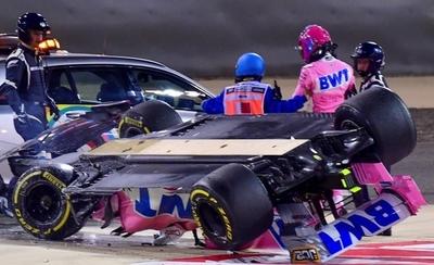 HOY / Otro brutal accidente en el circuito de Sakhir