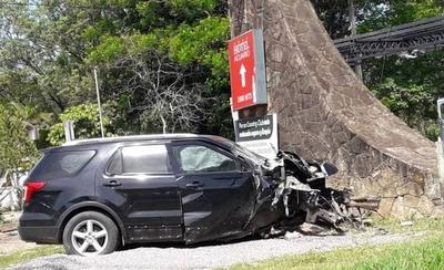 HOY / Accidente de tránsito en Sanber a consecuencia de alta velocidad
