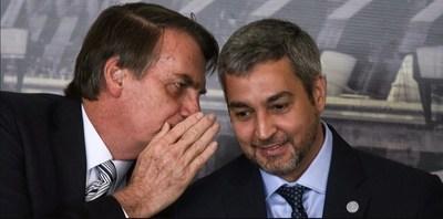 Abdo Benítez y Bolsonaro se reunirán el martes en Foz de Yguazú