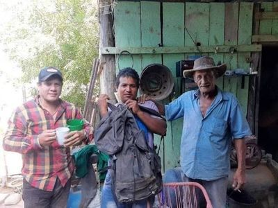 Devolvió G. 6 millones encontrados en una mochila perdida en Toro Pampa