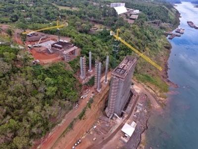 Abdo y Bolsonaro verificarán obras del Puente de la Integración