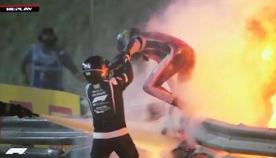 """HOY / Hamilton: """"Fue una imagen horrible que nos recuerda lo peligrosa que es la F1"""""""