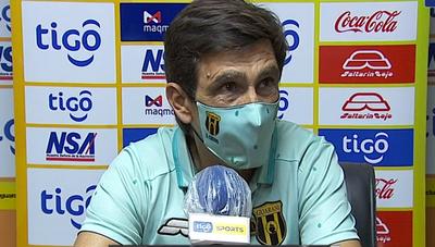 """Gustavo Costas: """"Me gustó el equipo"""""""