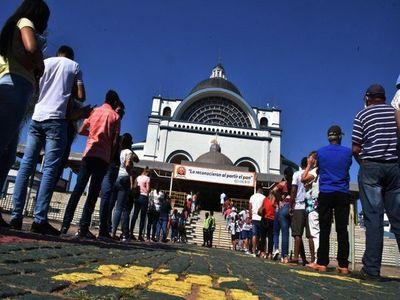 Gobierno amplía prohibiciones en Caacupé por festividades de la Virgen