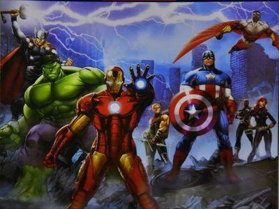 Nueva colección con superhéroes de Marvel,  desde mañana con ÚH