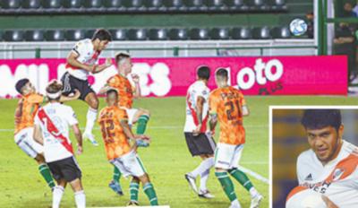 """Crónica / Rojas, el """"Sicario"""" de los goles, decisivo en River"""
