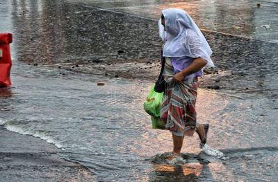 Lluvias y tormentas seguirán afectando este lunes a gran parte del país