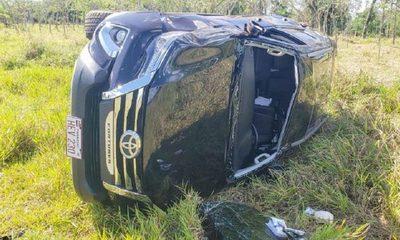 Hija del Gobernador de Alto Paraná sufre accidente – Diario TNPRESS