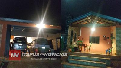 ASALTO DOMICILIARIO EN SAN LUIS DEL PARANÁ