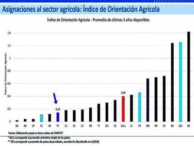 FAO recomienda aumentar el gasto público en producción de alimentos