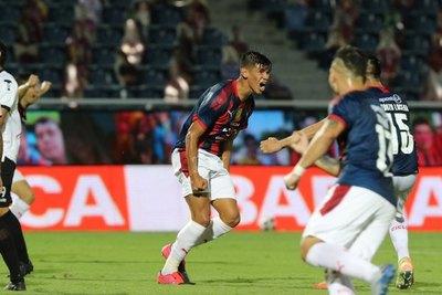 Morales, debut en Primera con Olimpia y estreno goleador con Cerro