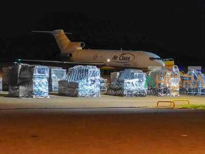 CARGUERO de Dalia López ATERRISO de emergencia en el aeropuerto Guaraní
