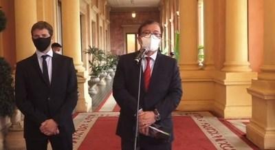 Nicanor llevó al Palacio a su par argentino: recursos de Yacyretá no son del Estado