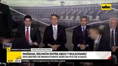 Reunión Abdo-Bolsonaro: mandatarios podrían conversar sobre la revisión del Anexo C