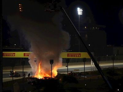 El HALO, la protección que la FIA impuso desde 2018 y que salvó a Grosjean