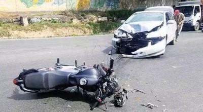 Alarmante: Reportan 12.031 víctimas de siniestros viales de los cuales 9.072 son de motos en lo que va del año