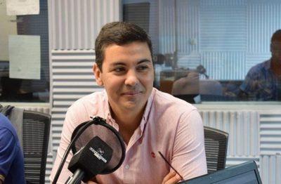 Santiago Peña dijo que tiene ganas de ser candidato para la Presidencia