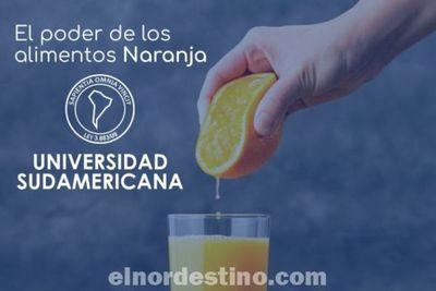 Universidad Sudamericana sugiere consumir naranja por sus propiedades curativas, beneficios y aportes nutricionales