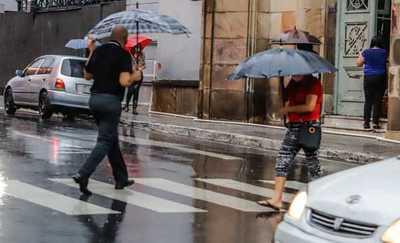 Meteorología anuncia un día muy caluroso con chaparrones y tormentas