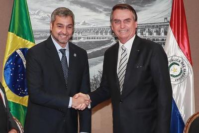 Abdo y Bolsonaro se reúnen para verificar avance del Puente de la Integración