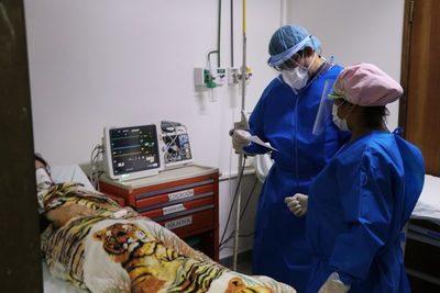 Clínicas: 100% de camas ocupadas por casos covid-19 positivos
