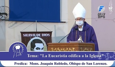 Caacupé: Monseñor resalta solidaridad durante la pandemia y critica ambición