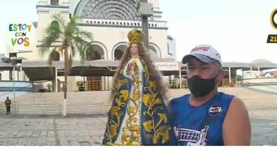 Cuarto día del novenario de la Virgen de Caacupé