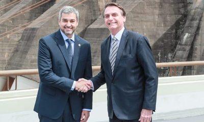 Abdo y Bolsonaro se encuentran hoy en Foz