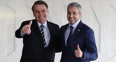 Abdo y Bolsonaro verifican avances del Puente de Integración