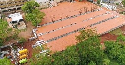 La Nación / Hospital de Itauguá: pabellones de contingencia, con 95% de ejecución