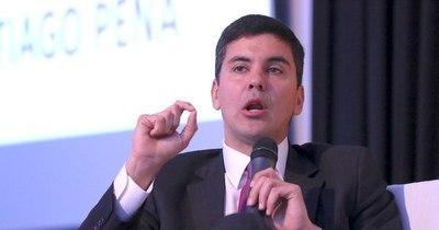 La Nación / Santiago Peña lamenta descontrol de gastos rígidos en plena pandemia