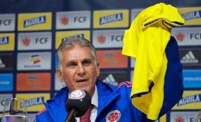 HOY / Colombia llegaría al lance con Paraguay sin Queiroz en el banco