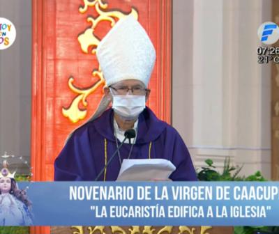 Monseñor criticó a quienes aprovecharon la pandemia para agrandar sus riquezas