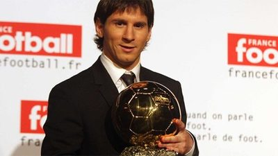 Se cumplen 11 años del primer Balón de Oro de Lionel Messi