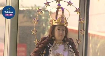 Virgen de Caacupé visitó el INERAM