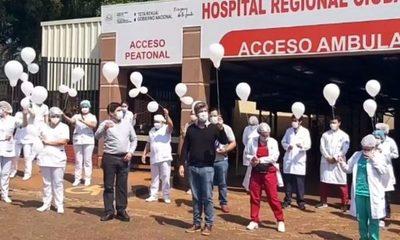 Casi 5.000 profesionales de salud tuvieron Covid