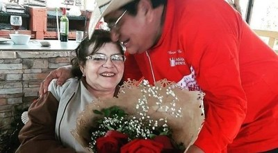 "Asador Benítez se recuperó del Covid-19: ""Mi esposa sigue viva en nosotros"""