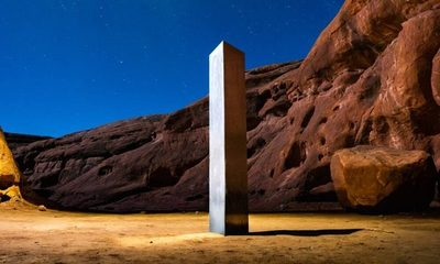 La misteriosa desaparición de un monolito en Utah, Estados Unidos