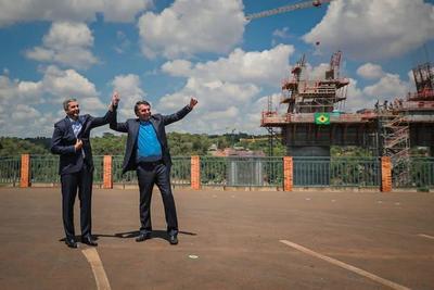 Mario Abdo Benítez y Jair Bolsonaro resaltaron impacto que tendrá el Puente de la Integración