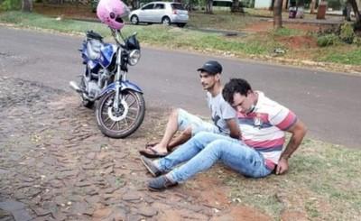 Imputados tras asaltar a un adolescente frente a policías
