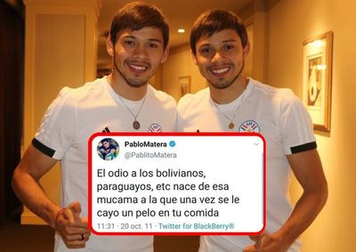 Óscar y Ángel Romero repudiaron con firmeza los tuits xenófobos de Matera