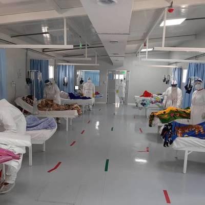 """Desde unidad respiratoria del Hospital Nacional: """"¡Cuídense, no te queremos como paciente!"""""""
