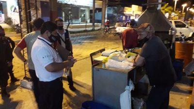 Controlan medidas sanitarias en canchas y puestos de ventas de Ñeembucú y Alto Paraná