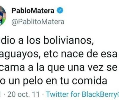 Repudio absoluto contra 3 rugbistas argentinos por tuits xenófobos y racistas