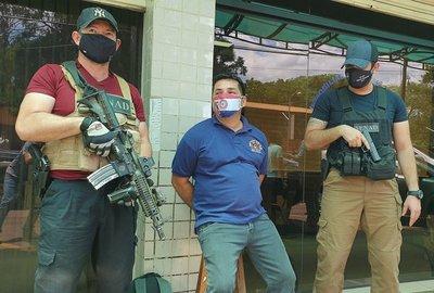 Capturan a principal traficante de armas de triple frontera