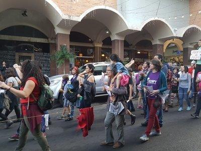 P-MAS organiza marcha 'por los derechos humanos y contra el stronismo'